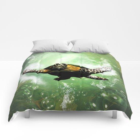 Cute seaturtle Comforters