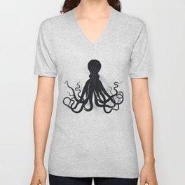 Octopi Unisex V-Neck