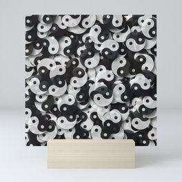 Yin Yang Universe Mini Art Print