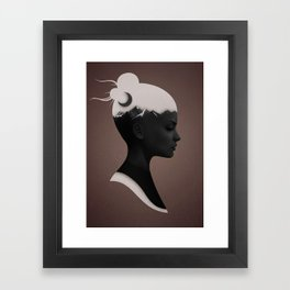 She Just Framed Art Print
