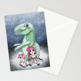 Kimmy and Rex Stationery Cards