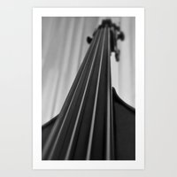 cello Art Prints featuring Cello by Anne Seltmann