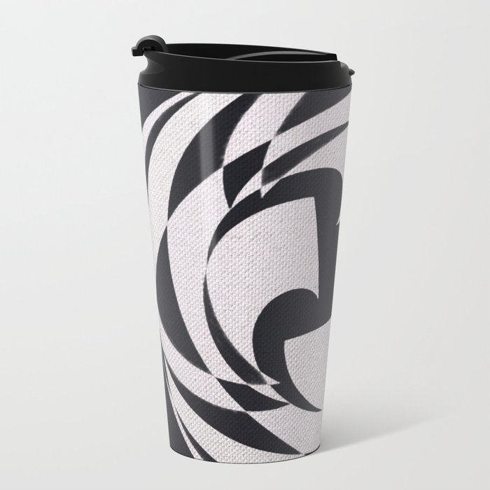Shuriken Metal Travel Mug