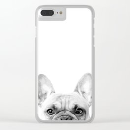Bruno The French Bulldog Clear iPhone Case