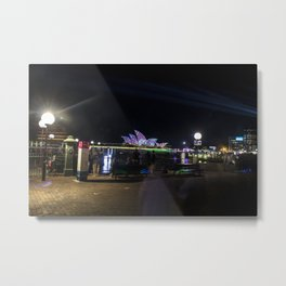 Vivid Sydney 2017_08 - The Ghosts Of Sydney Metal Print