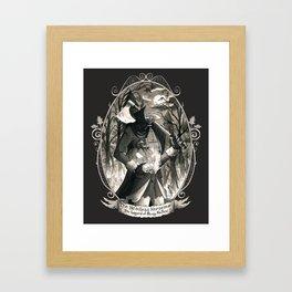 Portrait: Headless Horseman (Sleepy Hollow) Framed Art Print