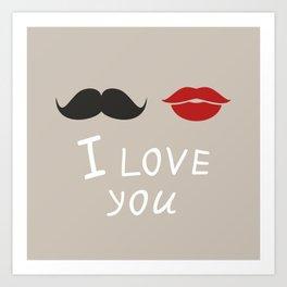 I love you4 Art Print