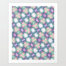 Dega Tropic 2 Art Print