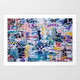Towanda Takes the City 2 Art Print