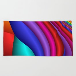 for yoga and more -14- Beach Towel
