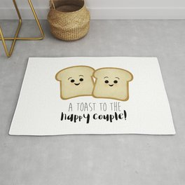 A Toast To The Happy Couple! Rug