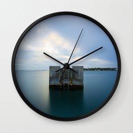 Soft Water Key West Wall Clock