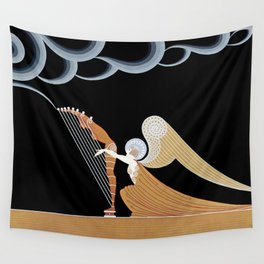 "Art Deco Design ""The Angel"" Wall Tapestry"
