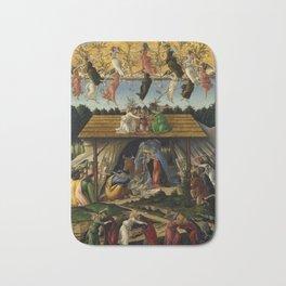"Sandro Botticelli ""The Mystical Nativity"" Bath Mat"