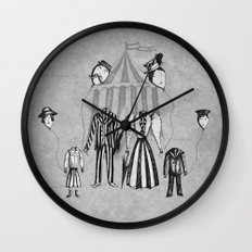 Just Popping Out For Some Air Wall Clock