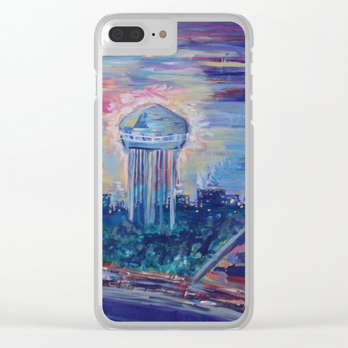 Vision from High Clear iPhone Case