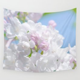 Lilac Flower Wall Tapestry