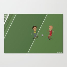 Robben's goal UCL Final Canvas Print