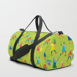 Gardeners pattern Duffle Bag