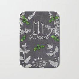 My Basil Bath Mat