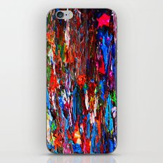 color mix / palette knife abstract iPhone & iPod Skin
