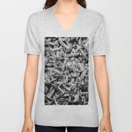 screws Unisex V-Neck