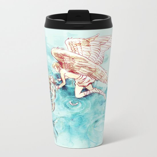 Star-cross'd Lovers Metal Travel Mug