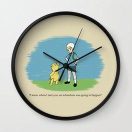 Ooo Corner Wall Clock