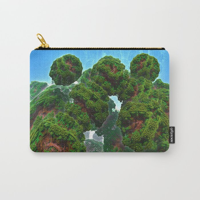 Bacterium Hedgerow Carry-All Pouch