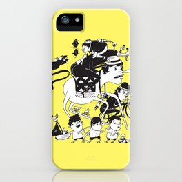 Race Against Time iPhone Case