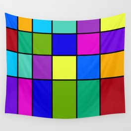 Abstract #6 Wall Tapestry