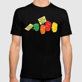 Stop Gummibear Cruelty! T-shirt