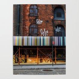 Love. Dumbo Brooklyn Poster
