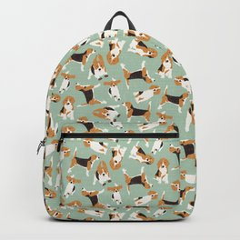 beagle scatter mint Backpack