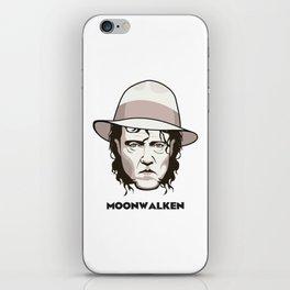 Moonwalken iPhone Skin