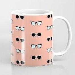 All Them Glasses - Peach Coffee Mug