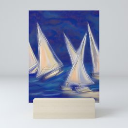 Regatta Mini Art Print