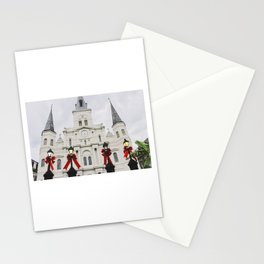 A Jackson Square Christmas Stationery Cards