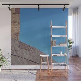 Angled Moon Wall Mural