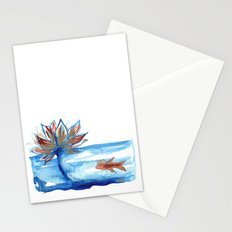The Lotus and the Goldfish Stationery Cards