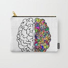 The Brain of Creativity Carry-All Pouch