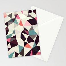 Retro Tris Light Stationery Cards