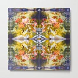 Marigold Photographic Pattern #1 Metal Print