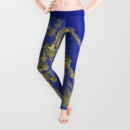 Orencyel : where gold spread in the sky let the message sink in Leggings