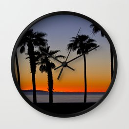 HB Sunsets  11/23/15 Wall Clock
