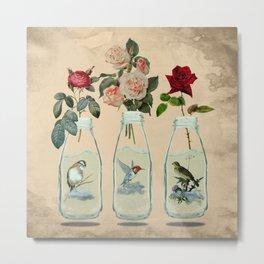 bottled spring Metal Print