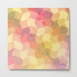 Frosty Candy - pattern Metal Print