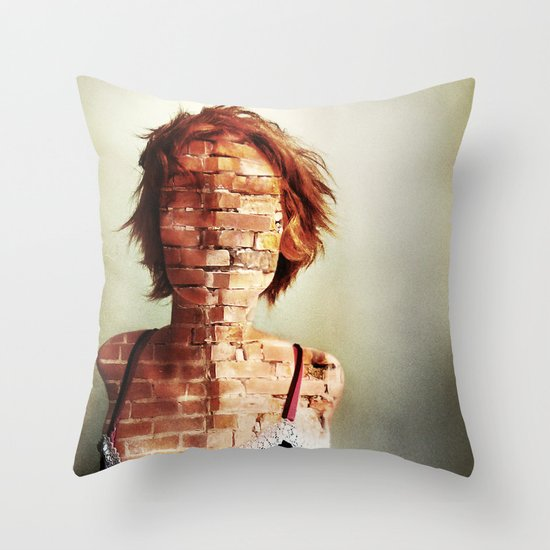 Complexity in a jaded world Throw Pillow