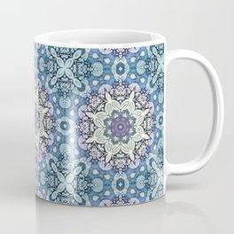 winter mandala pattern Coffee Mug