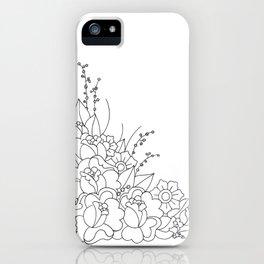 Catch Me In The Corner iPhone Case
